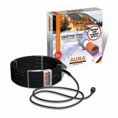 Комплект саморегулирующегося кабеля AURA FS 30-12 - обогрев труб, желобов, водостоков 12 м, 360 Вт