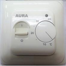 Терморегулятор Aura LTC 130 кремовый