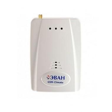 GSM-Climate модуль дистанционного управления электрическим котлом Эван