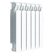 Радиатор биметаллический Rifar Monolit Ventil 500 6 секций (нижнее правое подключение)
