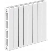 Радиатор биметаллический Rifar SUPReMO Ventil 500 8 секций (нижнее правое подключение)