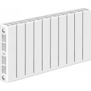 Радиатор биметаллический Rifar SUPReMO Ventil 350 10 секций (нижнее правое подключение)