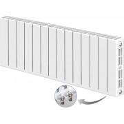 Радиатор биметаллический Rifar SUPReMO Ventil 500 14 секций (нижнее правое подключение)