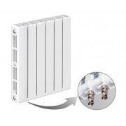 Радиатор биметаллический Rifar SUPReMO Ventil 500 6 секций (нижнее правое подключение)