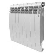 Радиатор биметаллический Royal Thermo BiLiner Bianco Traffico 500 8 секций