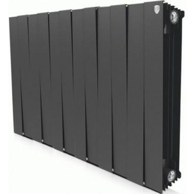 Радиатор биметаллический Royal Thermo Piano Forte Noir Sable 500 12 секций