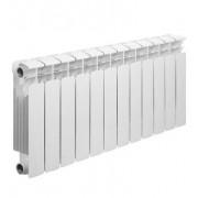 Радиатор биметаллический Rifar Base Ventil 350 12 секций (нижнее правое подключение)
