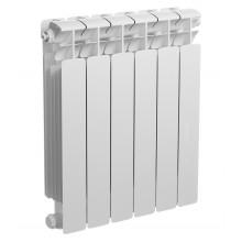 Радиатор биметаллический Rifar Base 500 6 секции (боковое подключение)