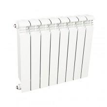 Радиатор биметаллический Rifar Base Ventil 500 8 секций (нижнее правое подключение)