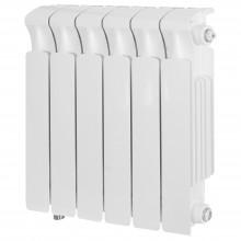 Радиатор биметаллический Rifar Monolit Ventil 350 6 секций (нижнее правое подключение)