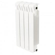 Радиатор биметаллический Rifar Monolit Ventil 500 4 секции (нижнее правое подключение)
