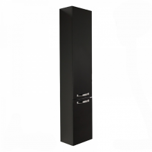 Шкаф-пенал Акватон Ария 34 см черный 1A124403AA950