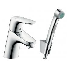 Смеситель для раковины с гигиеническим душем Hansgrohe Focus 31926000