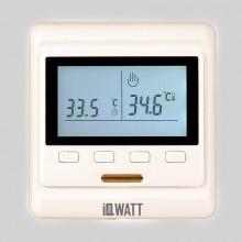 Терморегулятор IQWATT IQ Thermostat P (слоновая кость)