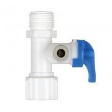 Тройник пластиковый Prio Новая вода X105