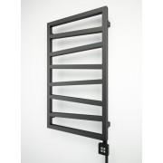 Электрический полотенцесушитель Terma Zigzag 835x500 Metallic Black
